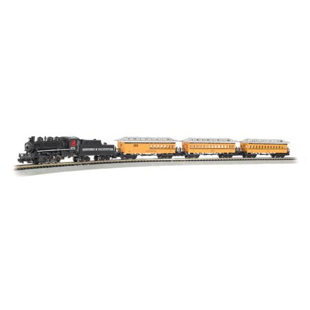 Bachmann Model Railroad - Bachmann Trains Durango and Silverton, N Scale Ready-To-Run Electric Train Set