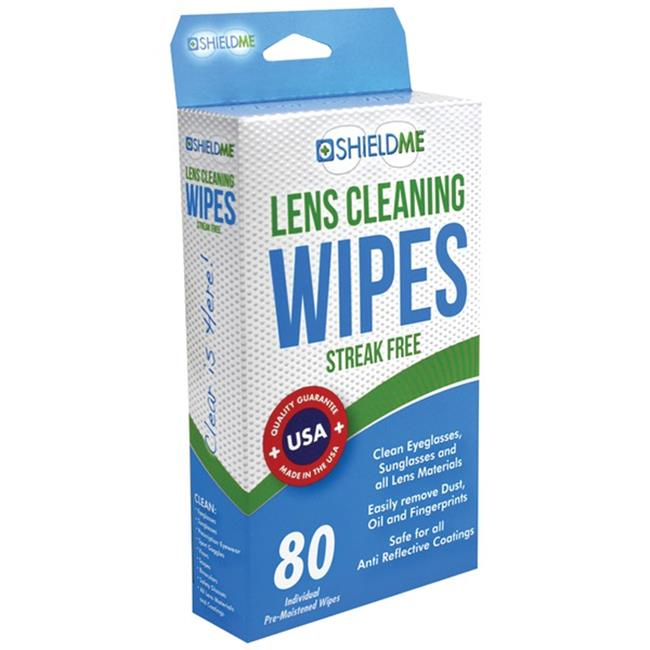 Shieldme 6080 Lens Cleaning Wipes, 80 ct.