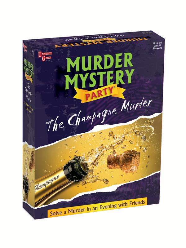 The Champagne Murder - Murder Mystery Party Game