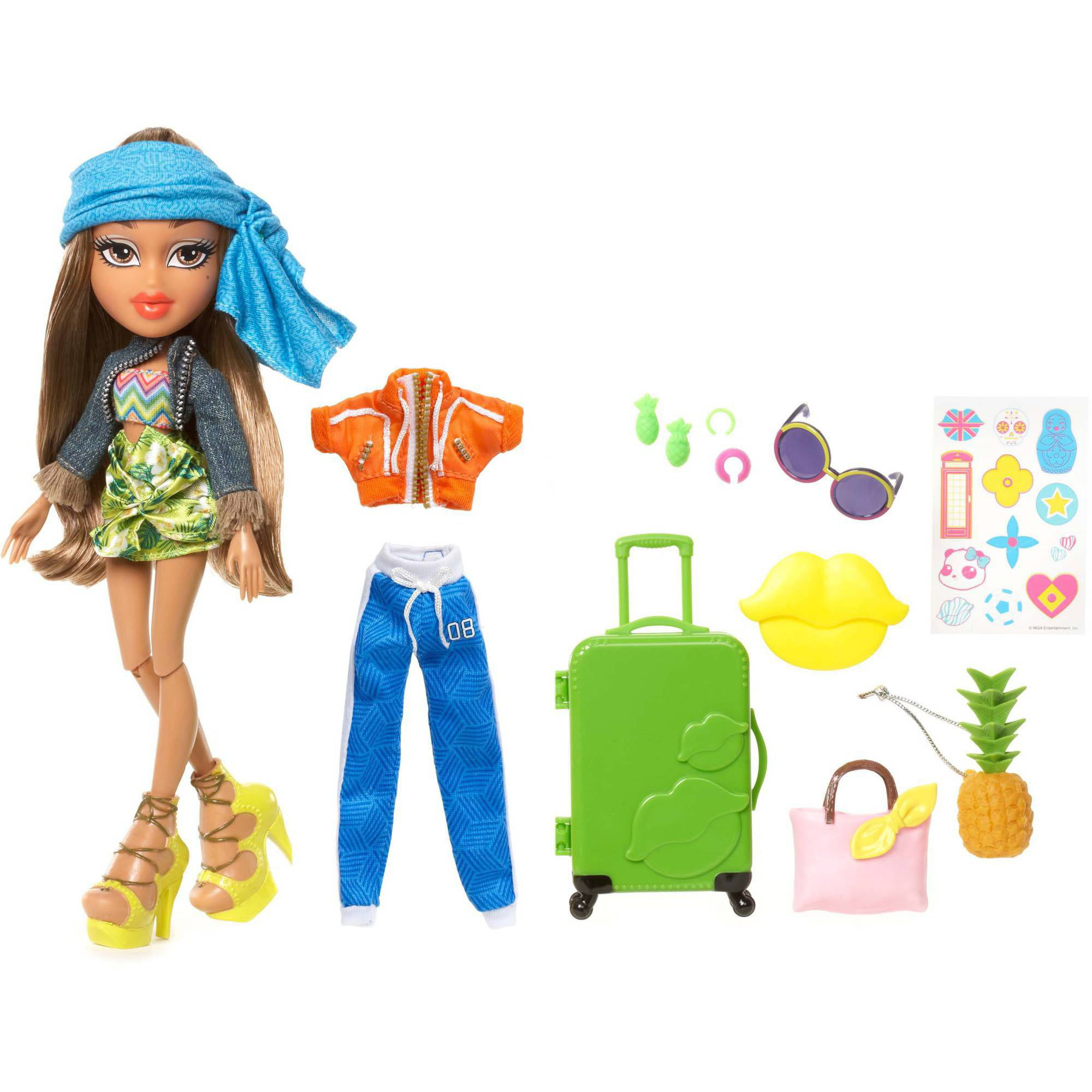Bratz Study Abroad Doll, Yasmin to Brazil by MGA Entertainment