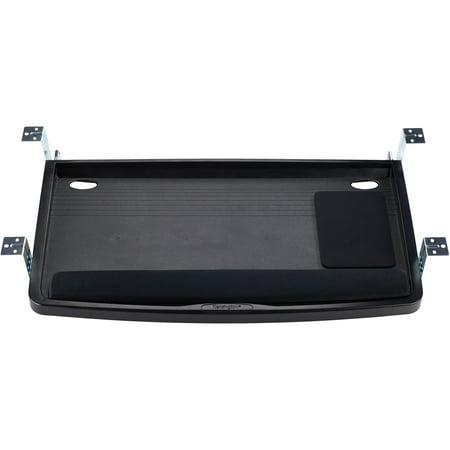 - Kensington, KMW60004, Underdesk SmartFit Comfort Keyboard Drawer, 1, Black