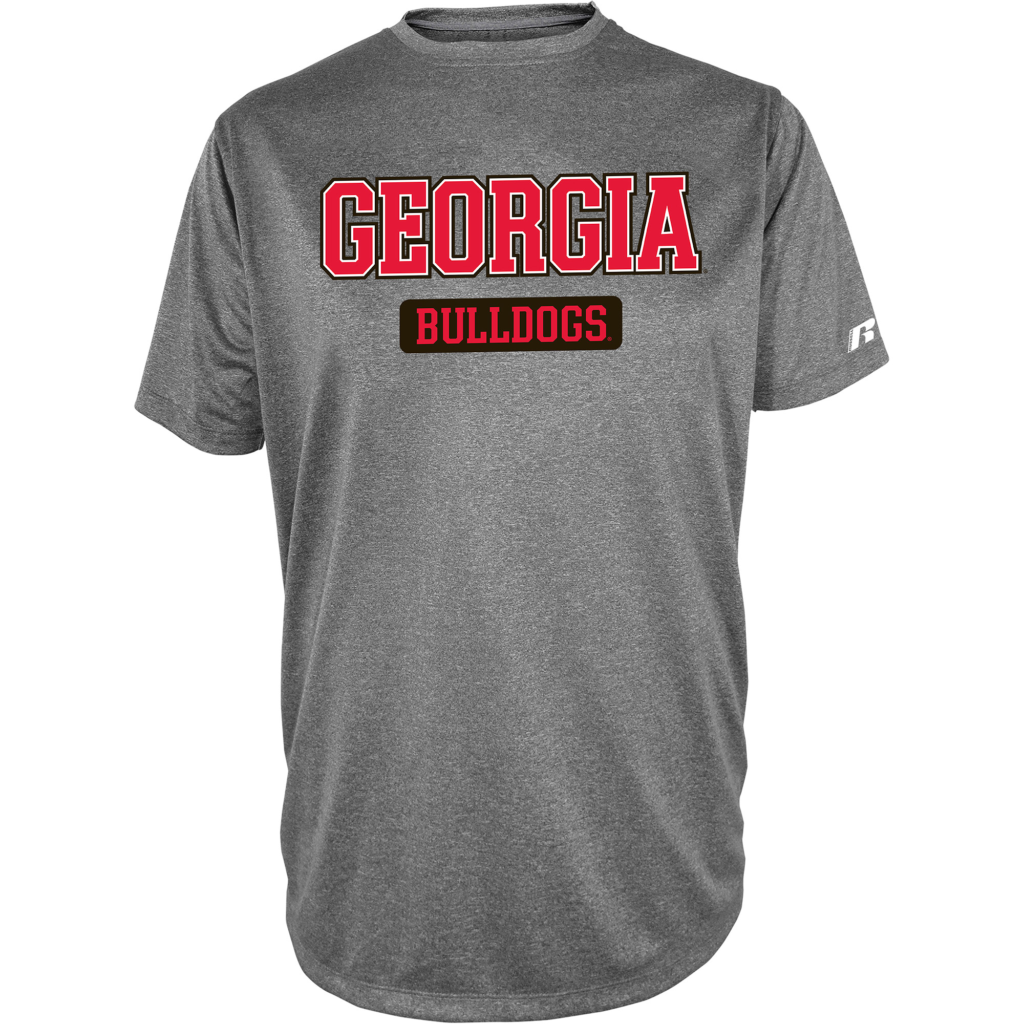 Russell NCAA  Georgia Bulldogs, Men's Impact T-Shirt