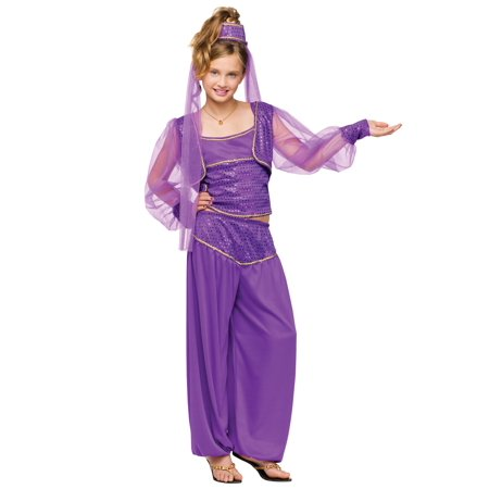 Girls Dreamy Genie Jasmine Costume