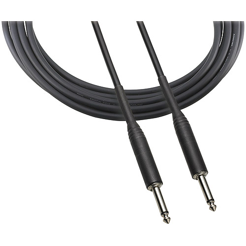 "Audio Technica ATR-INST10 1/4"" Instrument Cable, 10'"