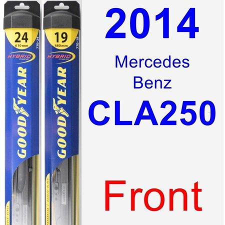 2014 Mercedes-Benz CLA250 Wiper Blade Set/Kit (Front) (2 Blades) -