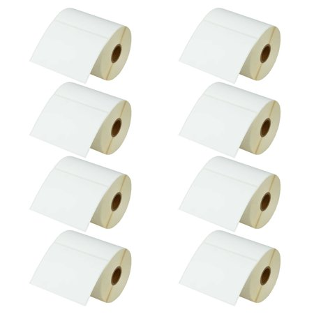 Shipping Code (GREENCYCLE 8 Roll (500 Labels/Roll) Compatible Direct Thermal Paper Label 4 x 3 inch 1'' Core Blank Shipping Address Barcode Multi-function Labels For Zebra GK420D TLP-3844Z T402 Label)