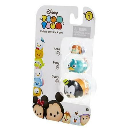 Best Disney Tsum Tsum 3 Pack: Anna, Perry, Goofy deal