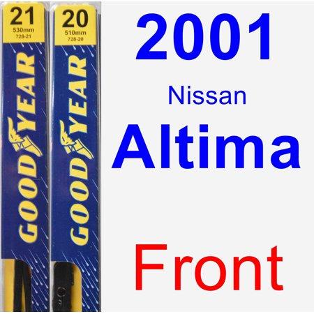 2001 Nissan Altima Wiper (2001 Nissan Altima Wiper Blade Set/Kit (Front) (2 Blades) -)