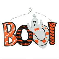 Halloween $2.5 Wood Boo Wall Hang