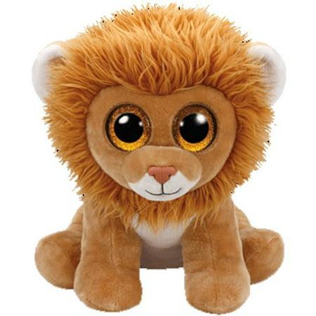 3283736b087 Louie Lion Beanie Babies Large 16 inch - Stuffed Animal by Ty (96300) -  Walmart.com