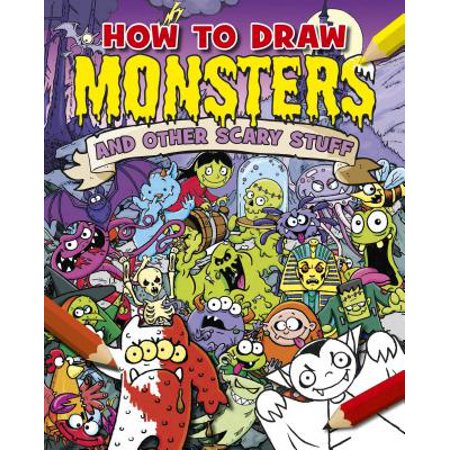 How to Draw Monsters and Other Scary Stuff - Cool Stuff To Draw For Halloween