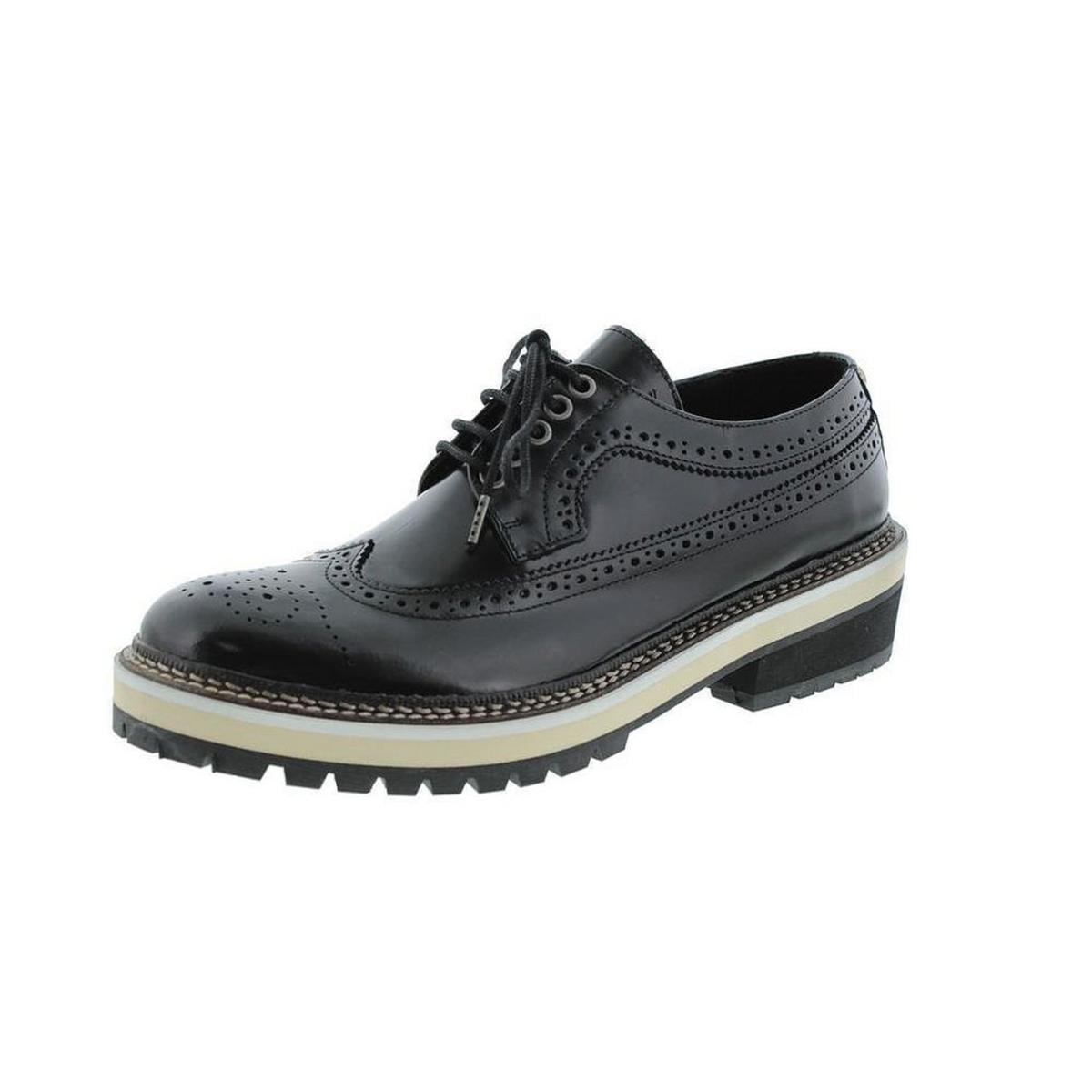 Diesel Women's Whity Swan Black Shoe 10M