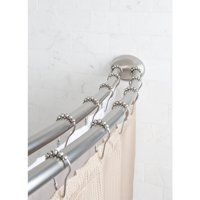 """Better Homes & Gardens 50"""" x 72"""" Adjustable Dual-Installation Double-Curved Rod, 1 Each"""