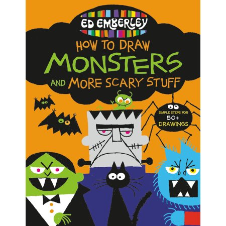 Ed Emberley's How to Draw Monsters and More Scary Stuff](Easy Stuff To Draw For Halloween)