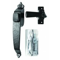 WRIGHT PRODUCTS VC333BL Push Button Latch, Black