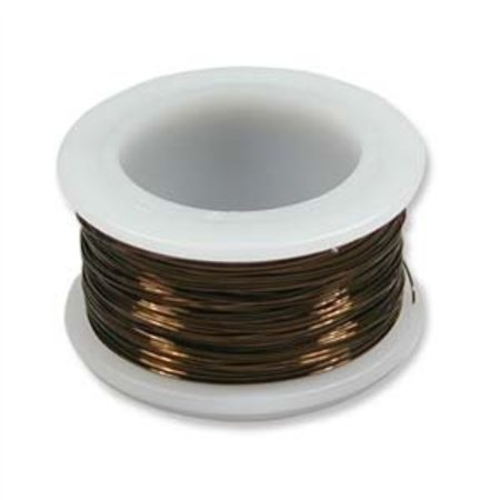 Artistic Wire 24 Gauge Antique Vintage Bronze Brass Color Copper Craft Wire, 20 (Copper Bronze Color)