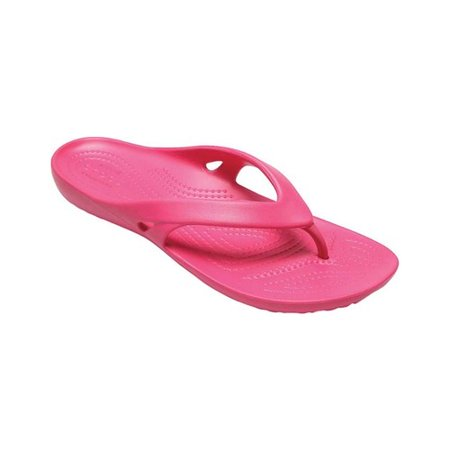 Crocs Women's Kadee II Flip (Minnetonka Leather Flip Flops)