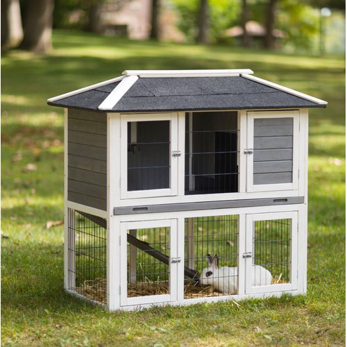 Prevue Pet Products Rabbit Hutch Duplex
