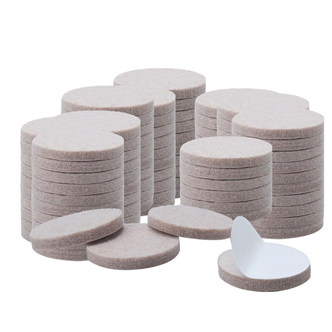100pcs Felt Furniture Pads Round 7 8 Quot Floor Protector For