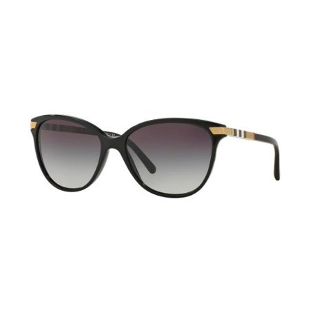 BURBERRY Sunglasses BE4216 30018G Black (Burberry Sunglasses Case Only)