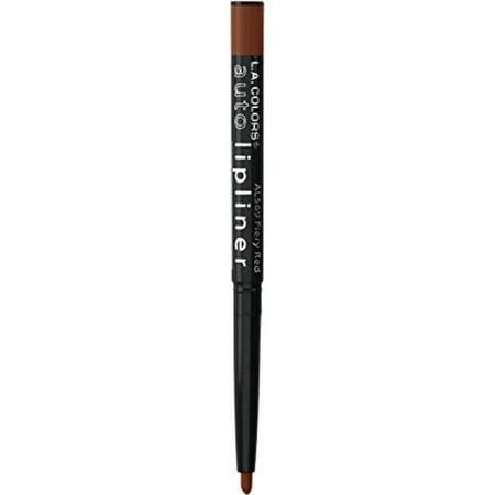 L.A. Colors Auto Lip Liner Pencil 567 Cafe, Smudge proof By LA COLORS