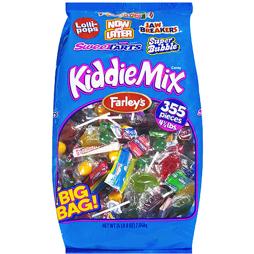 Farley's Kiddie Mix Candy, 4.5 lb