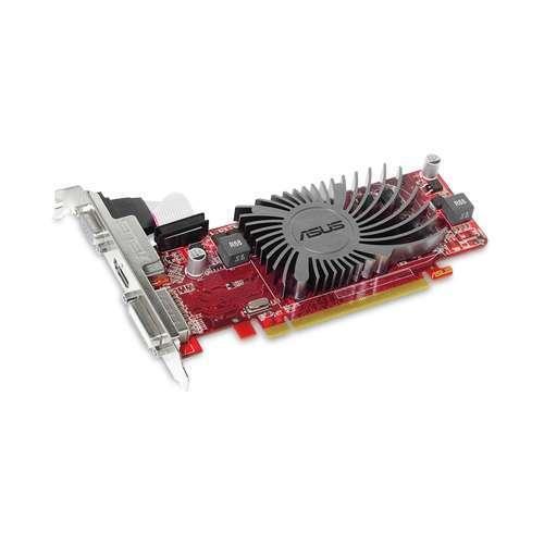 ASUS EAH6450 SILENT/DI/1G Radeon HD 6450 Video Card - 1024MB, DDR3, PCI-Express 2.1 (x16), 1x DVI, 1x HDMI, 1x VGA, Dire