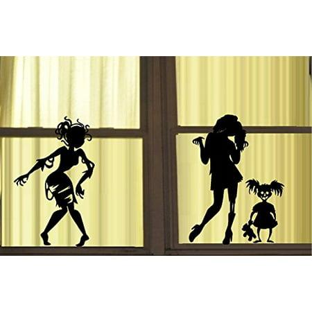 Decal ~ ZOMBIE GIRLS (Ghouls) GONE WILD #1 Wall or Window (Best Girls Gone Wild Videos)