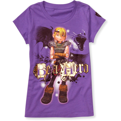 How to Train Your Dragon - Girls' Graphic Tee
