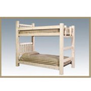 Montana Woodworks Inc MWHCBBNV Bunk bed, TwinTwin - Homestead Collection - Lacquered