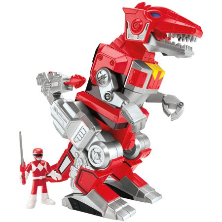Imaginext Power Rangers Red Ranger and T-Rex Zord