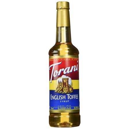English Toffee Syrup, 25.4 Ounce - English Toffee Syrup