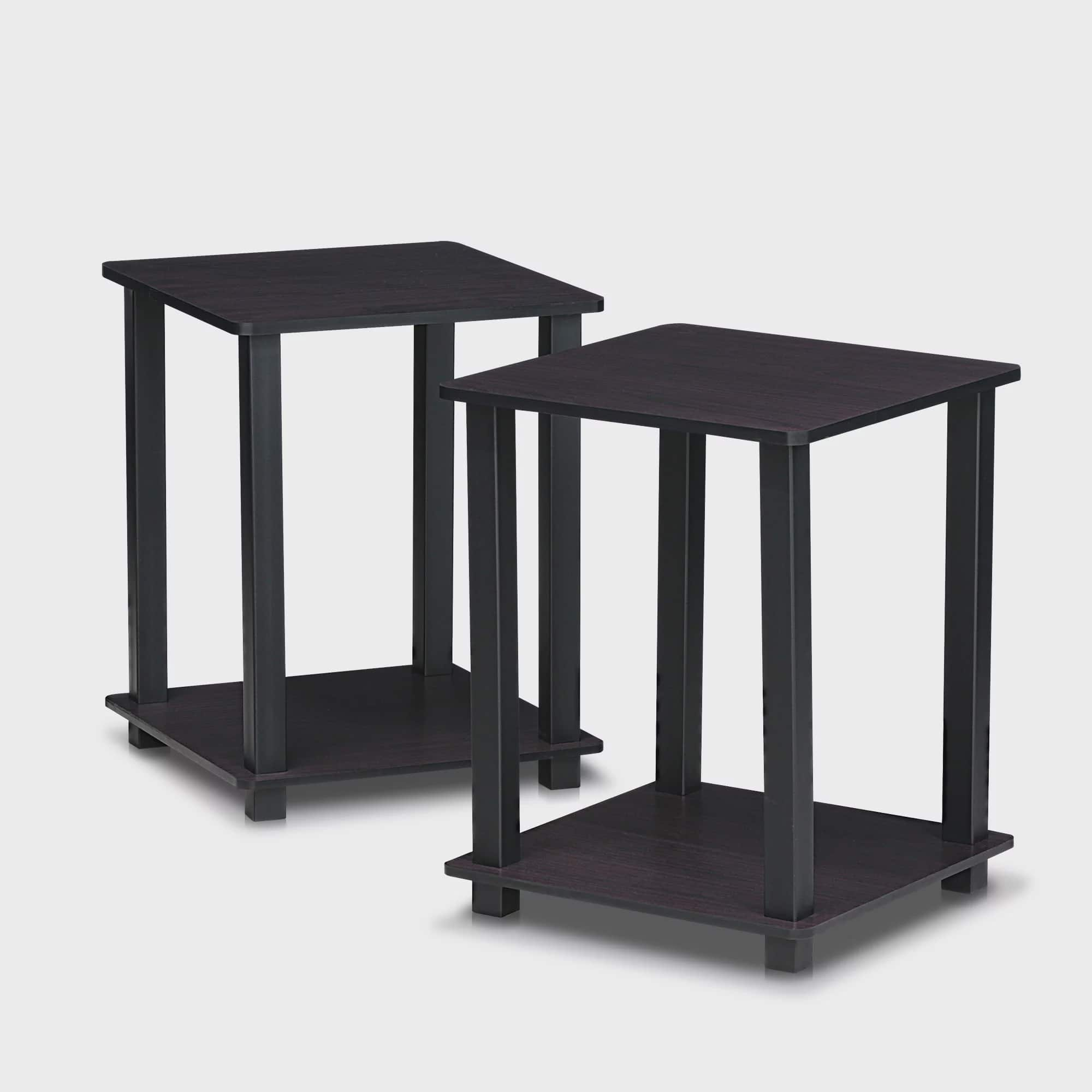 Furinno Turn-N-Tube Simplistic End Table, Set of Two by Furinno