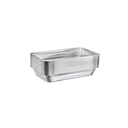"""Half Size Deep Table Pans (9"""" x 13"""") Disposable Aluminum Chafing and Catering Pans (30 pack without lids) - Half Size Aluminum Pan"""