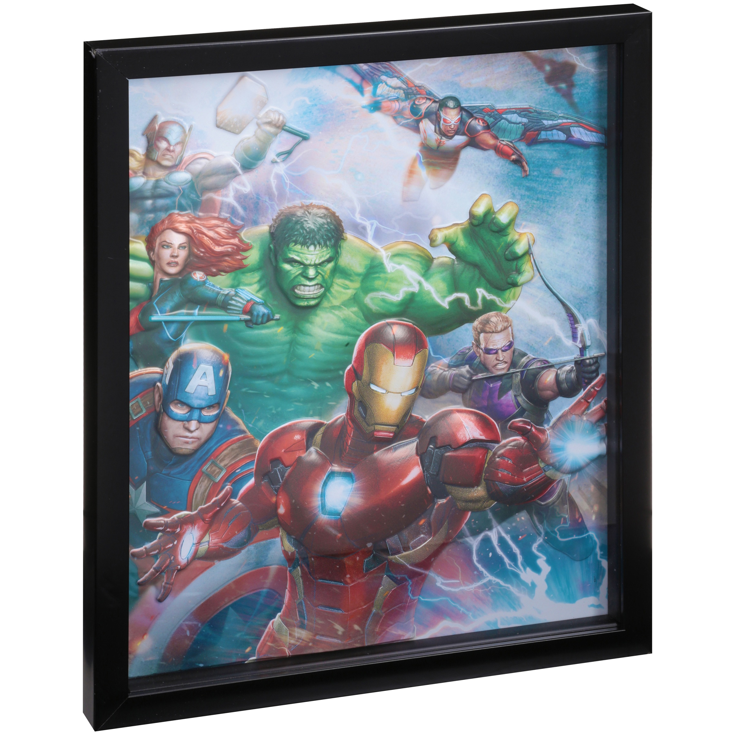 Edge Home Marvel Avengers Framed Wall Hanging by Marvel