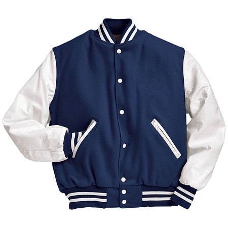 Augusta Men's Varsity Tall Jacket - All Time Low Varsity Jacket