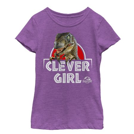 Jurassic Park Girls' Clever Girl Raptor T-Shirt
