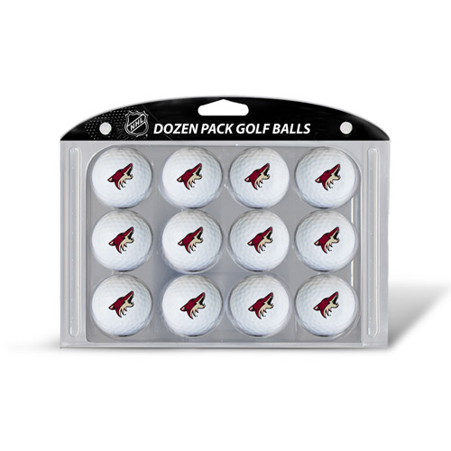 Team Golf NHL Arizona Coyotes Golf Balls, 12 Pack