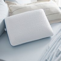 Sleep Innovations Forever Cool Gel Memory Foam Pillow, Standard Size, Cooling Cover, 1 Pack, 5-year Warranty