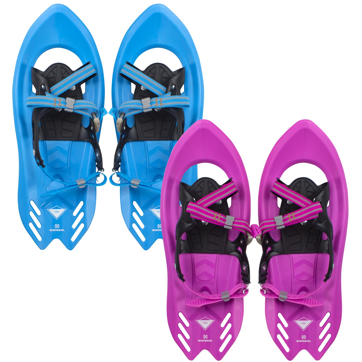Winterial Pika Kids Snowshoes   Snowshoes   Kids   Snowshoeing   Youth Snowshoes   Flat Terrain Snowshoes by Winterial