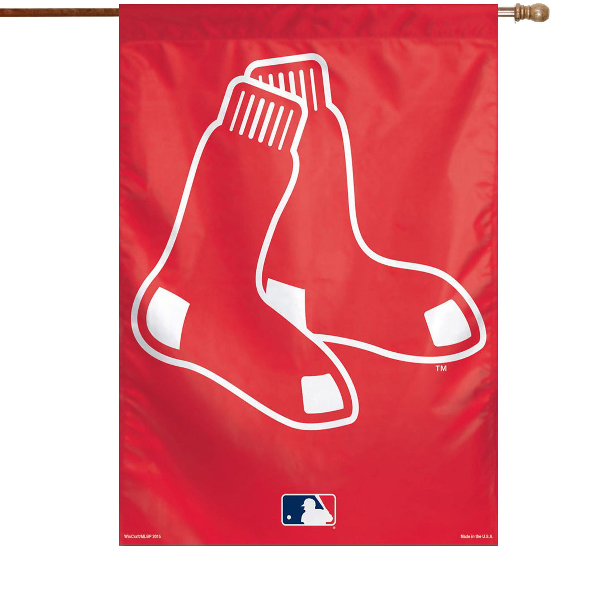 "Boston Red Sox WinCraft 28"" x 40"" Big Logo Single-Sided Vertical Banner - No Size"