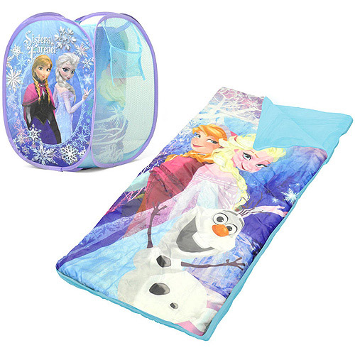 Disney Frozen Sleeping Bag and Hamper