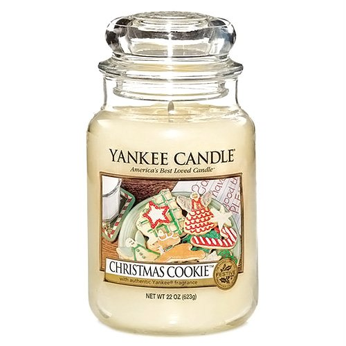 Yankee Candle Classic Housewarmer Large, Christmas Cookie, Scented Candle, Room Scent in...