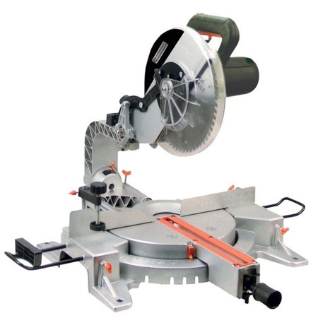 Professional Woodworker 8637 15 Amp 12-Inch Sliding Compound Miter Saw with L.