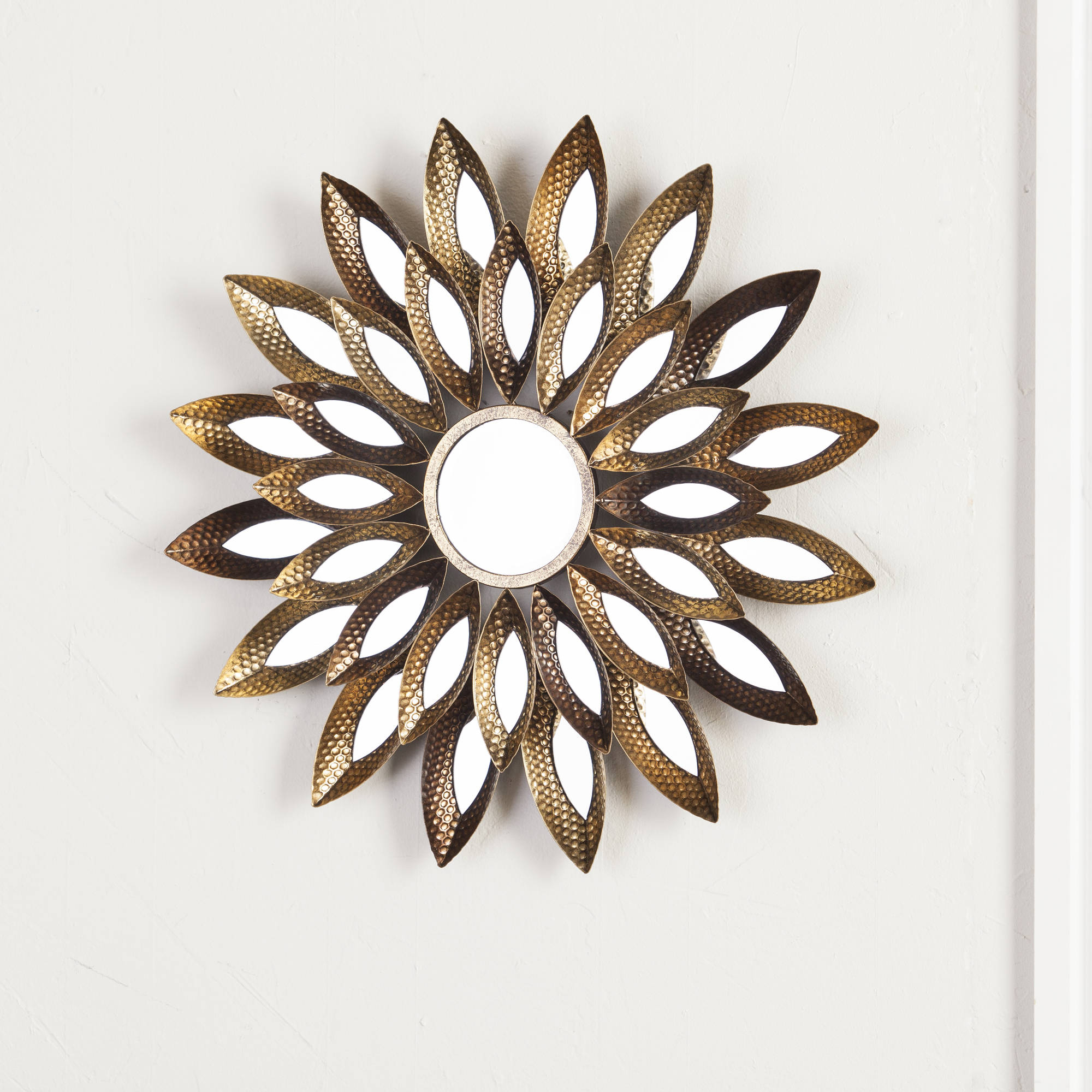 Southern Enterprises Melate Decorative Wall Mirror, Gold