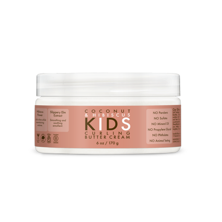 SheaMoisture Kid's Curl Hair Cream, Coconut & Hibiscus, 6