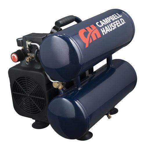 Campbell Hausfeld DC040000 4 Gallon Oil-Lube Twinstack Co...