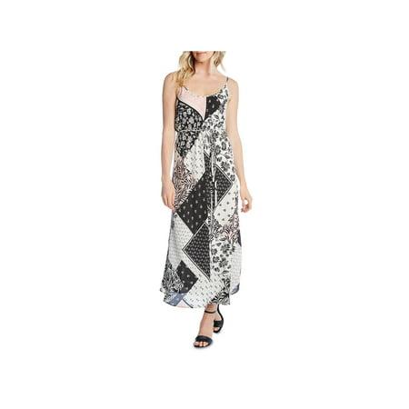 Karen Kane Womens Printed Scoop Neck Tank Dress