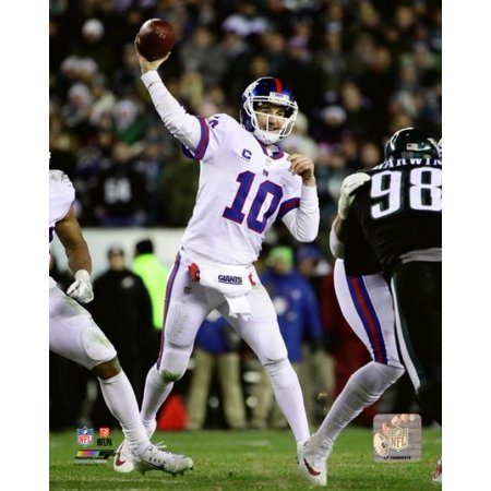 Eli Manning 2016 Action Photo Print