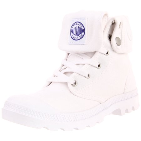 - Palladium 92353-101 :  Women's Baggy Canvas Boot White/Surf